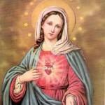 Cuore Immacolato vergine Maria