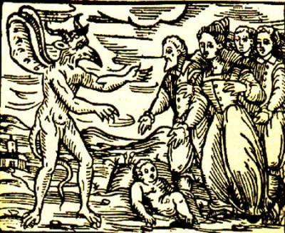 azione del diavolo sui corpi sulle cose