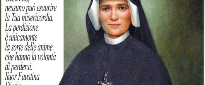 Lotta spirituale Santa Faustina Kowalska