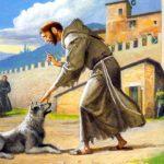 san Francesco Assisi e il diavolo